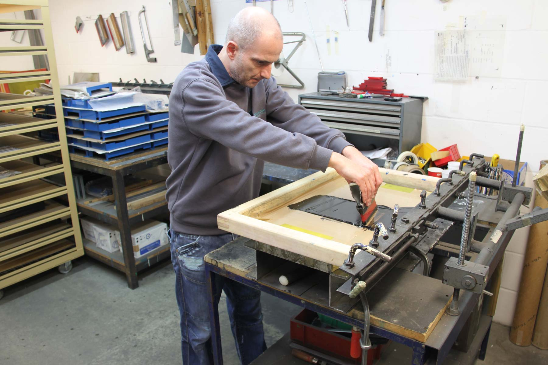 Silk Screen Printing Electronic Metalwork Services Ltd